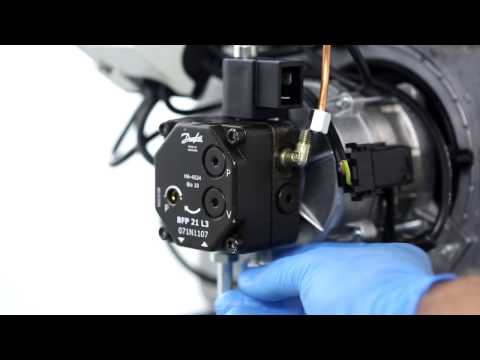 Changing the oil pump BFP