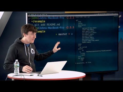 Git Internals by John Britton of GitHub - CS50 Tech Talk