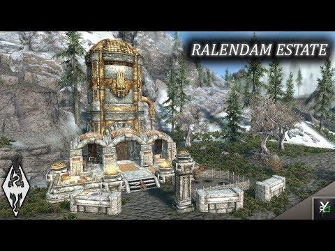 RALENDAM ESTATE: Player Home!!- Xbox Modded Skyrim Mod Showcase