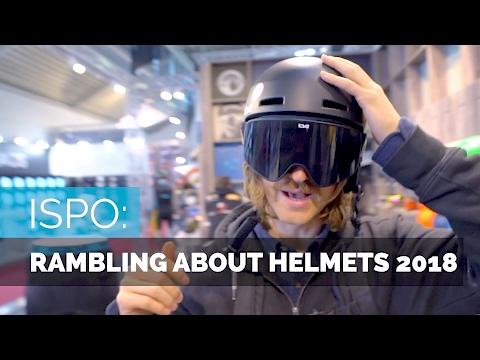 SKI HELMETS 2018 | ISPO PREVIEW