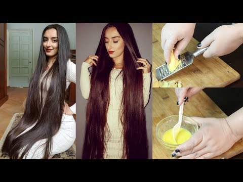Use This Remedy For 3 Weeks To Get Super Long Hair, Thicker Hair, Healthy Hair, Silky Hair