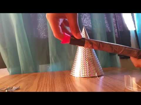 How to make simple blow darts