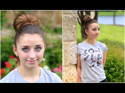 How to Create a Fan Bun | Updo Hairstyles