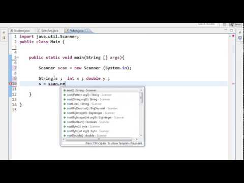 Scanner and Array in java