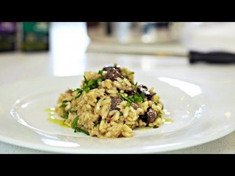 Ian Curley's Mushroom Risotto