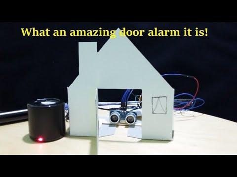 Amazing Interactive Door Alarm