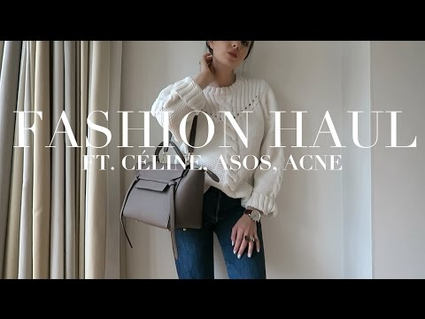 Fashion Haul | Céline, Acne, Alexander Wang, ASOS.