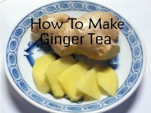 Fresh Ginger Tea Recipe - Nature's Antibiotic | The Master Vegan