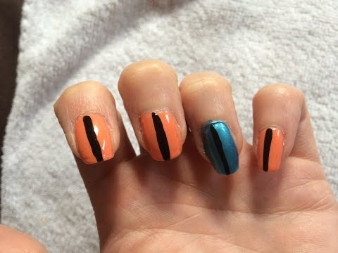 Summer Nail Tutorial To Make Nails Look Longer