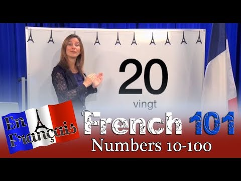 Learning to Count Numbers 10 - 100 | French For Beginners