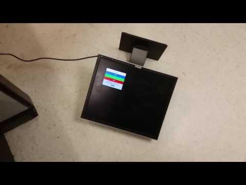 LCD Monitors Stress Test