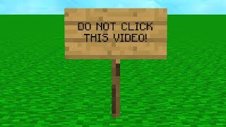 THIS IS NOT A MINECRAFT VIDEO.