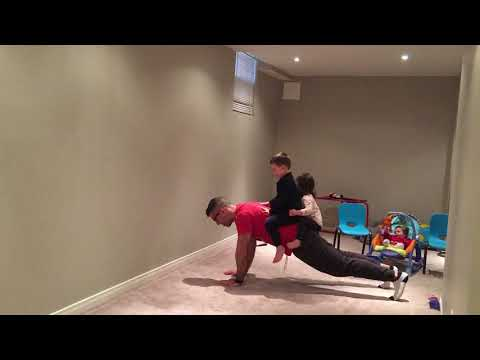 Elbows to Hands Plank