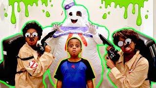 Bad Baby MARSHMALLOW MAN ATTACKS AGAIN! Ghostbusters Shiloh and Shasha - Onyx Kids