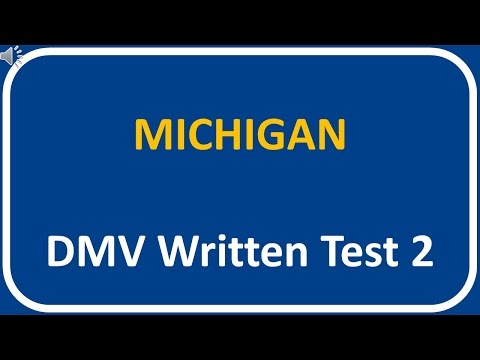 Michigan DMV Written Test 2
