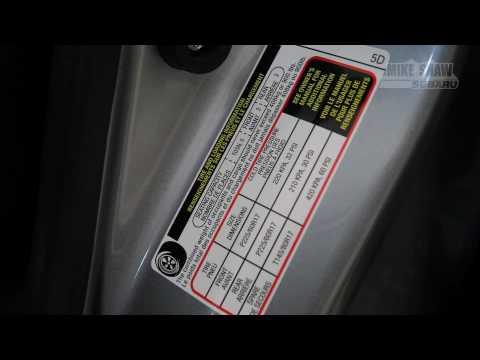 Winter Tire Pressure - Mike Shaw Subaru