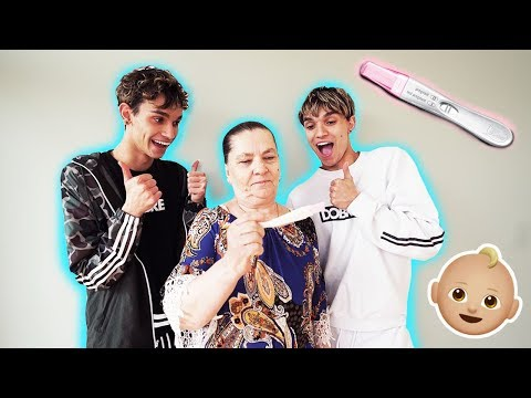 OUR GRANDMA IS PREGNANT!