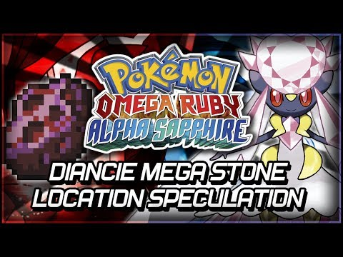 Pokémon Omega Ruby and Alpha Sapphire | Diancie Mega Stone Location Speculation
