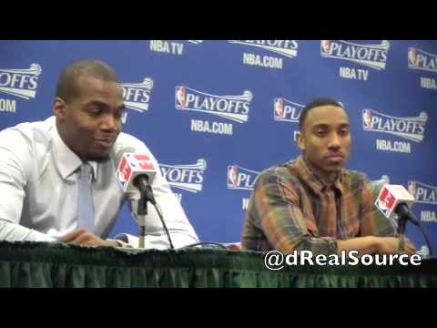 Jeff Teague says Paul George's D didn't bother him; excited to go back to Atlanta