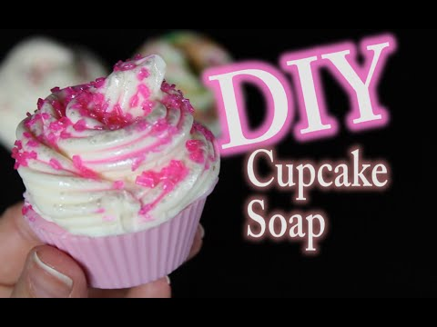 DIY Melt and Pour Cupcake Soap