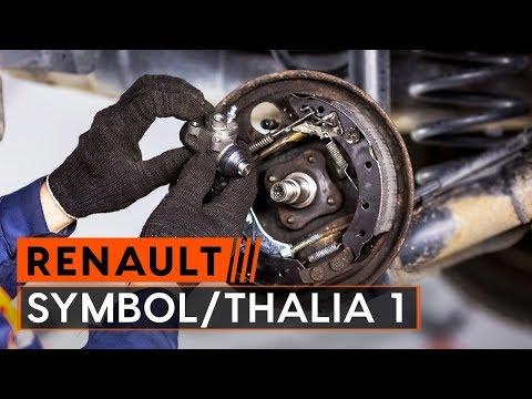 How to replace wheel cylinder onRENAULT SYMBOL/THALIA 1[TUTORIAL AUTODOC]