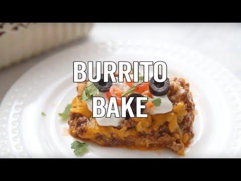 How to make: Bisquick Burrito Bake