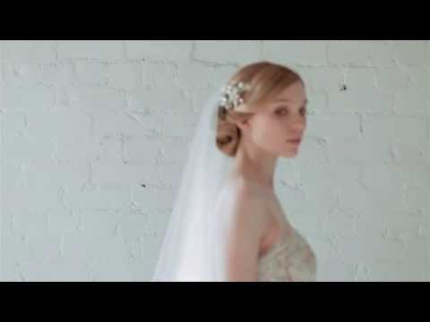 How to wear a bridal veil