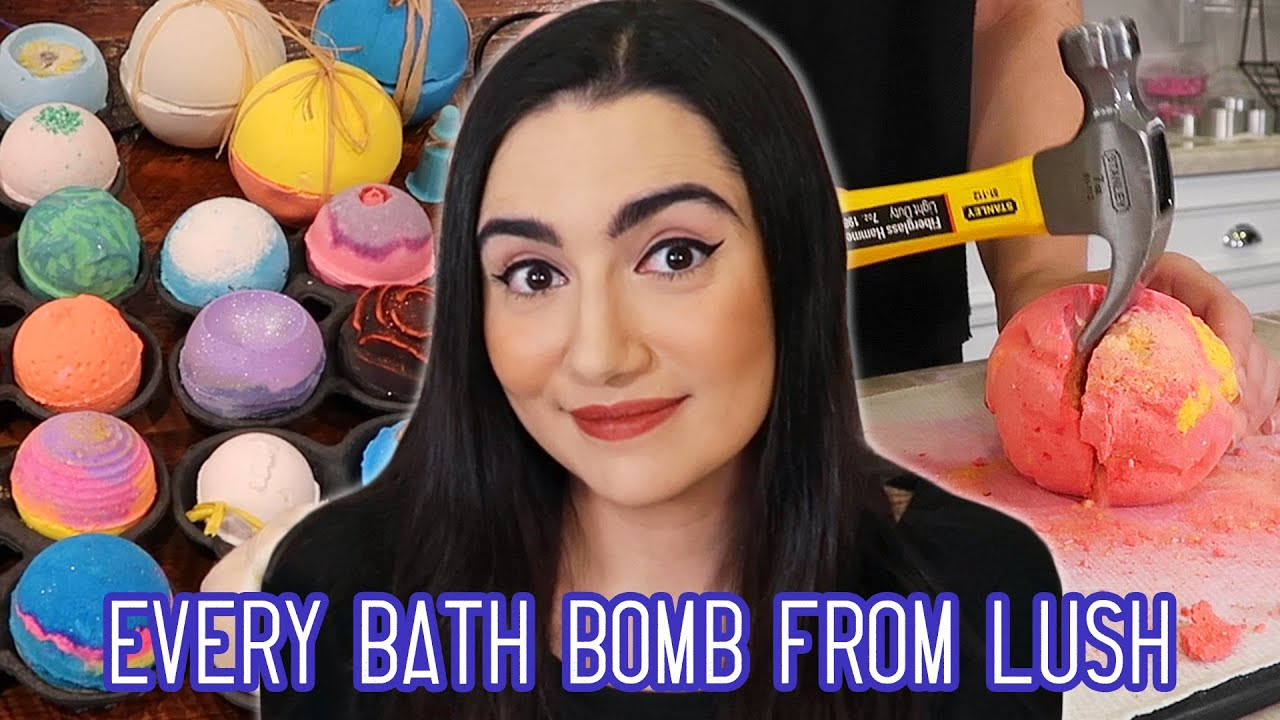 Mixing Every Bath Bomb From Lush Together