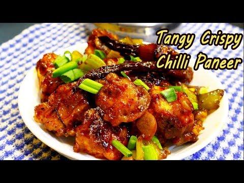 Crispy Reasturant style Chilli Paneer | Easy Chilli Paneer Recipe | MadhurasRecipe | Ep - 638