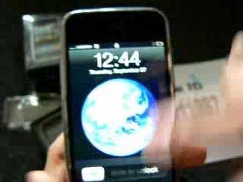 iPhone Unlocked in NZ vodafone