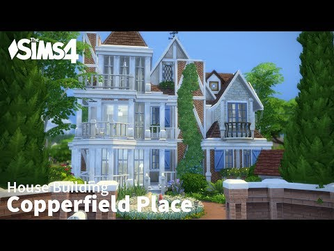 The Sims 4 House Building - Copperfield Place