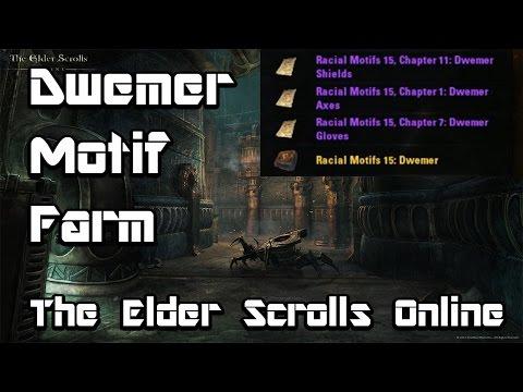 DWEMER MOTIF FARMING LOCATION- The Elder Scrolls Online (Xbox One)