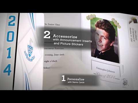 Jostens Graduation Announcements - 3 Easy Steps