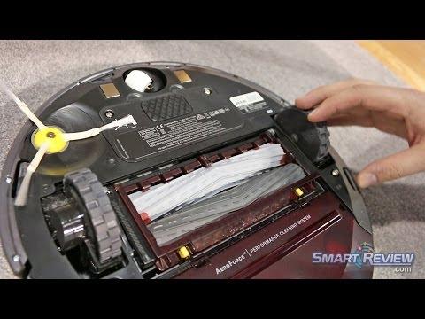 CES  | iRobot Roomba 880 Vacuum Demonstration | 800 Series Robotic Vacuum | 2015 Smart Review
