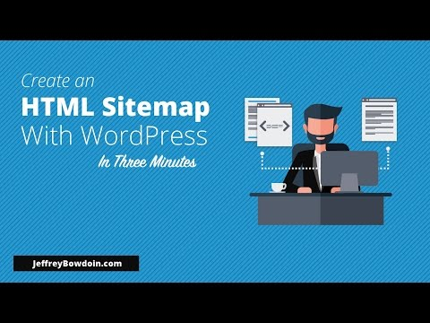 How to add an HTML sitemap to WordPress