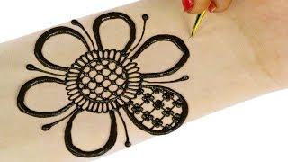 Latest Arabic Mehndi Design For Hands | Mehndi Designs for Hands #78 @ jaipurthepinkcity