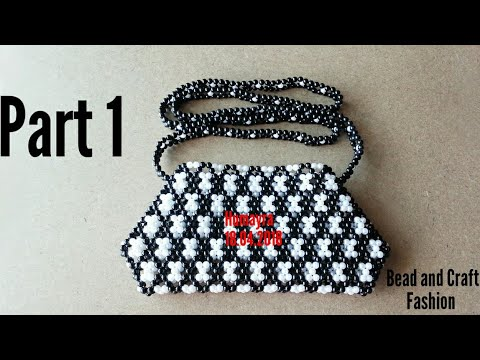 How to make Beaded Bag || Purse || Clutch || Pouch ||Crystal Work|| DIY || Part 1