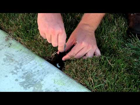 How To Replace A Sprinkler Nozzle