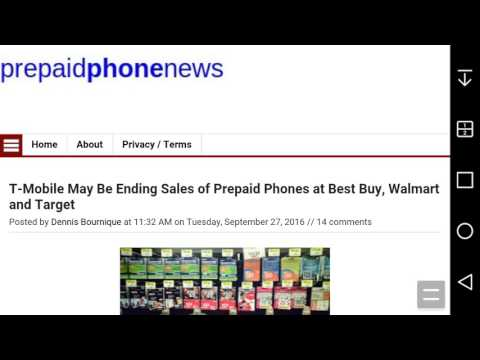 T-Mobile May Be Ending Sales of Prepaid Phones at Best Buy, Walmart & Target
