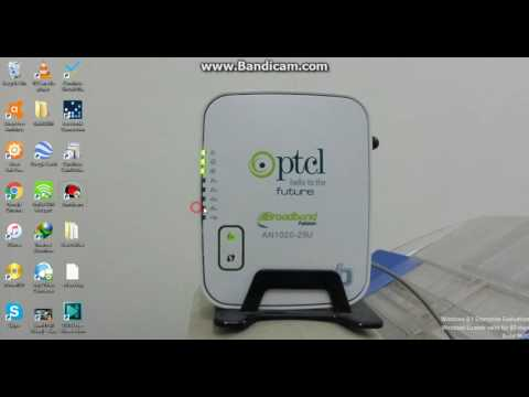 how to use ptcl router with cable net