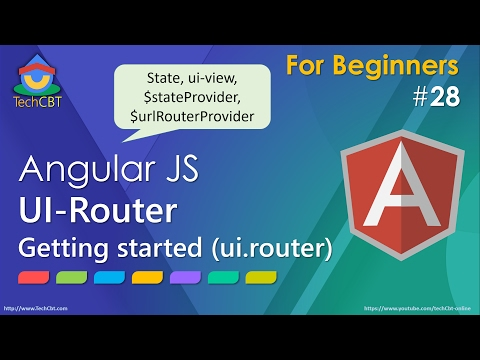 AngularJs UI-Router: Introduction & Getting Started