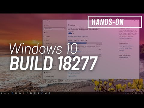 Windows 10 build 18277: Hands-on with new Storage, Action center, features