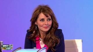 Did Carol Vorderman share her bed with a lion cub? - Would I Lie to You? [HD][CC]