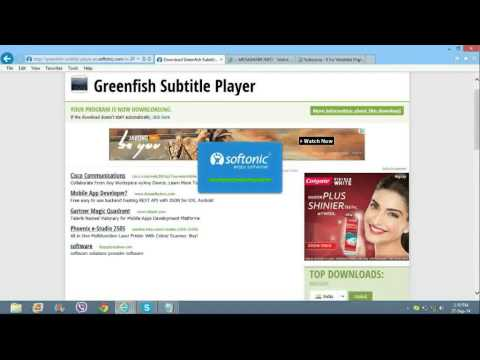 How to add subtitles to online video or movie streaming ( using Greenfish subtitle player )