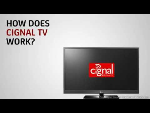 How does CIGNAL Digital TV work?