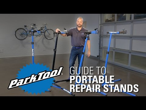Park Tool Portable Repair Stand Comparison