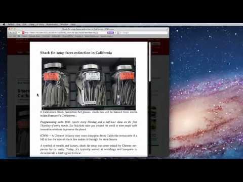 Mac OS X Lion: Safari Tutorial, Printing & Reader