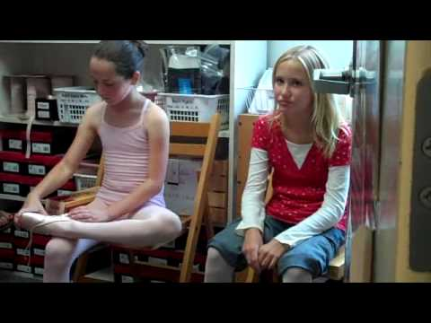 Ballet : Robbie First Pointe Shoe Fitting 1 of 3