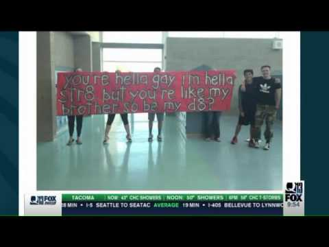 Straight high student shocks gay best friend, asks him to prom in epic way