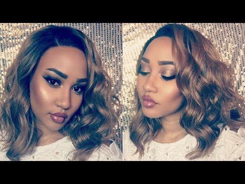 BLONDE OMBRE BOB| FRIDAY NIGHT HAIR GLS 132